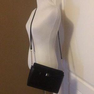 Like new Kate Spade black leather crossbody
